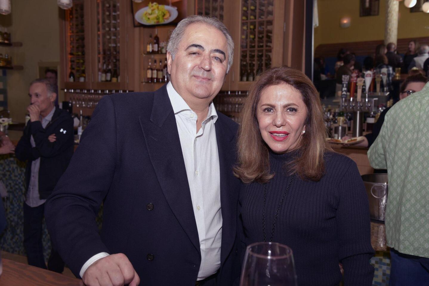 Fred and Ati Yousefi
