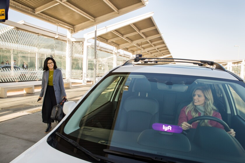 Lyft's new feature cuts out the hassle of hunting for the right car and driver at the airport.