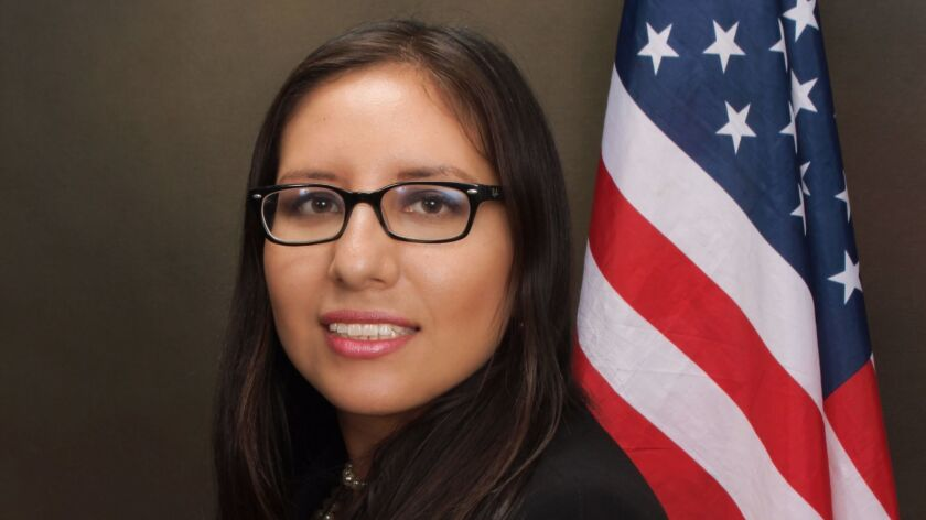 Dulce Garcia, a San Diego attorney and DACA beneficiary, is a plaintiff in a lawsuit against the Tru