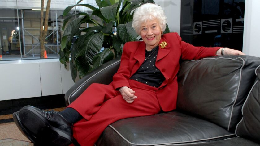 "Actress-singer-comedienne Charlotte Rae, posing in her New York apartment in 2006. ""We all need to laugh. Sometimes I get all these laughs inside of me and there's no place to let 'em out,"" said Rae, who played den mother Mrs. Garrett on ""The Facts of Life."""