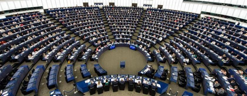 Vista de un pleno del Parlamento Europeo. EFE/Archivo