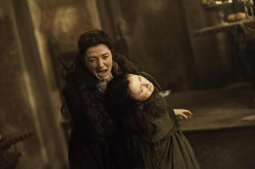 Game Of Thrones Fans See Red Over Red Wedding Los Angeles Times