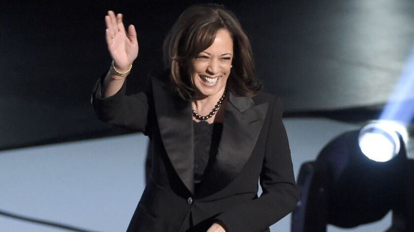 Sen. Kamala Harris (D-Calif.) appears at the NAACP Image Awards on March 30 at the Dolby Theatre in Hollywood.