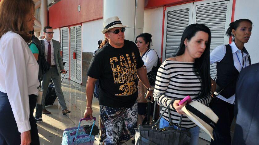 Cuba airline service