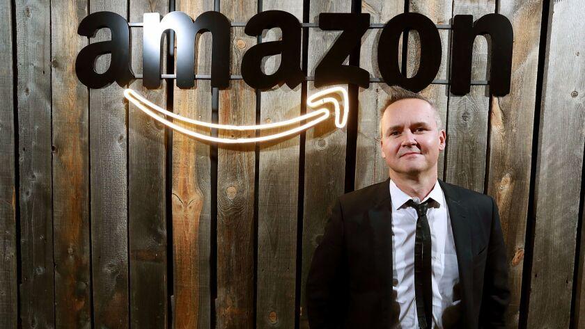 SANTA CLARITA, CA - FEBURARY 25, 2016 -Amazon Studios chief Roy Price photographed at the Santa Moni
