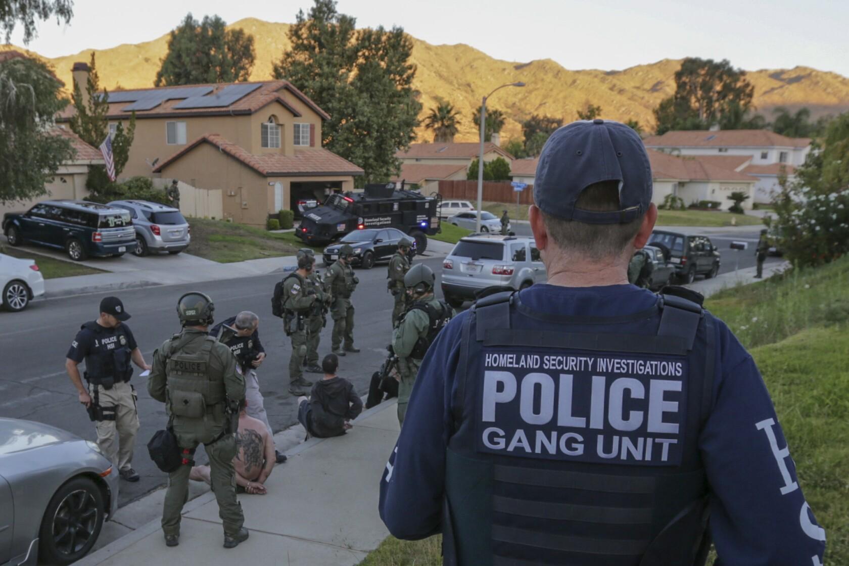 Federal agents arrest Vagos motorcycle gang members in