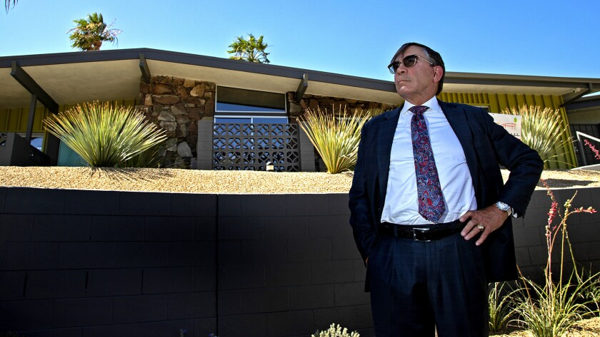 Palm Springs Mayor Rob Moon is against Measure C. On June 5, voters will go to the polls to decide on the measure, which would ban short-term renting of single-family homes.