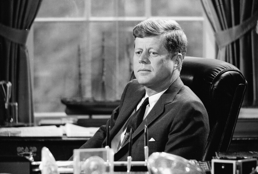 Nov. 22 marks the 50th anniversary of John F. Kennedy's assassination at Dealey Plaza in Dallas, Texas.