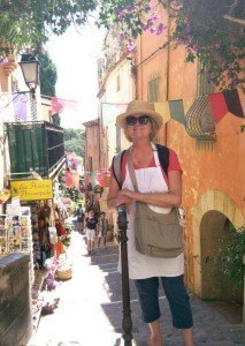 Carol Limbach, CCA visual arts teacher, on her recent painting trip to Provence, France.