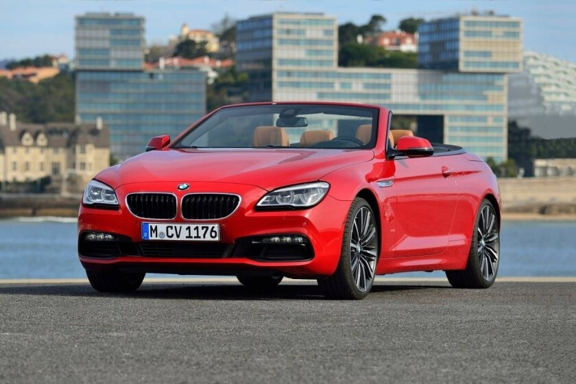 2018 Bmw 6 Series Convertible Redesign, Price and Review - Car Concept 2018