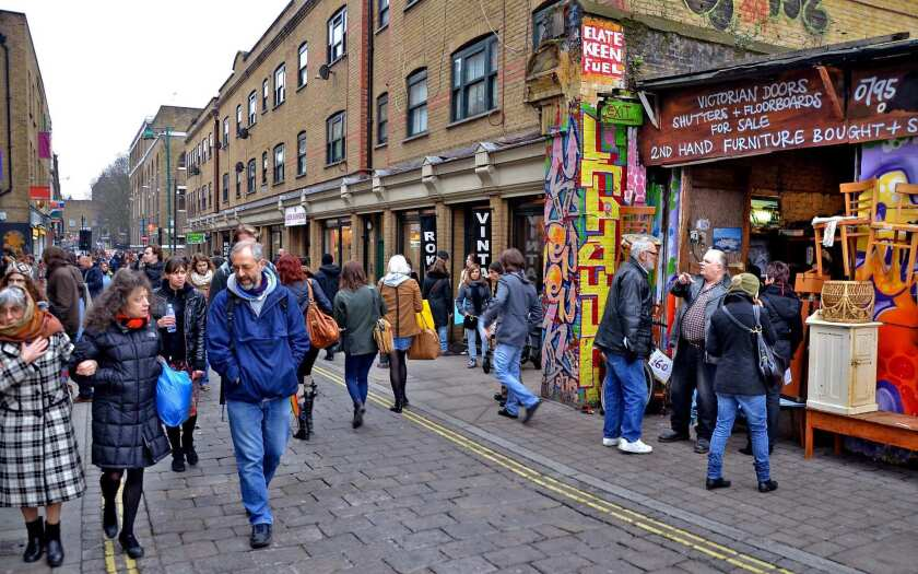Brick Lane, London's East End