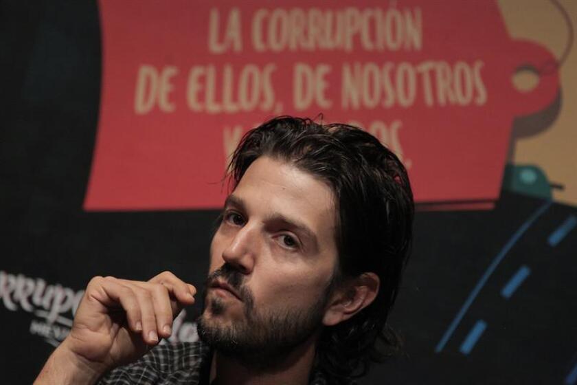 """El actor mexicano Diego Luna protagonizará la nueva versión de """"Scarface"""" que prepara el estudio Universal y que finalmente no contará con Antoine Fuqua como director. EFE/ARCHIVO"""