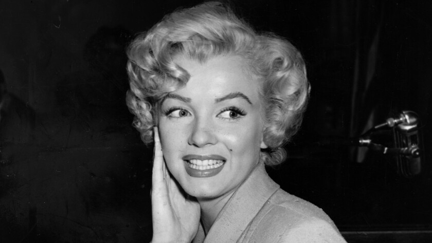 Marilyn Monroe is photographed in court during a 1952 indecency case.