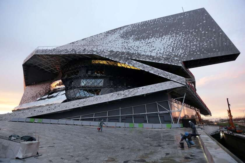 Jean Nouvel shunning opening of Philharmonie concert hall in Paris