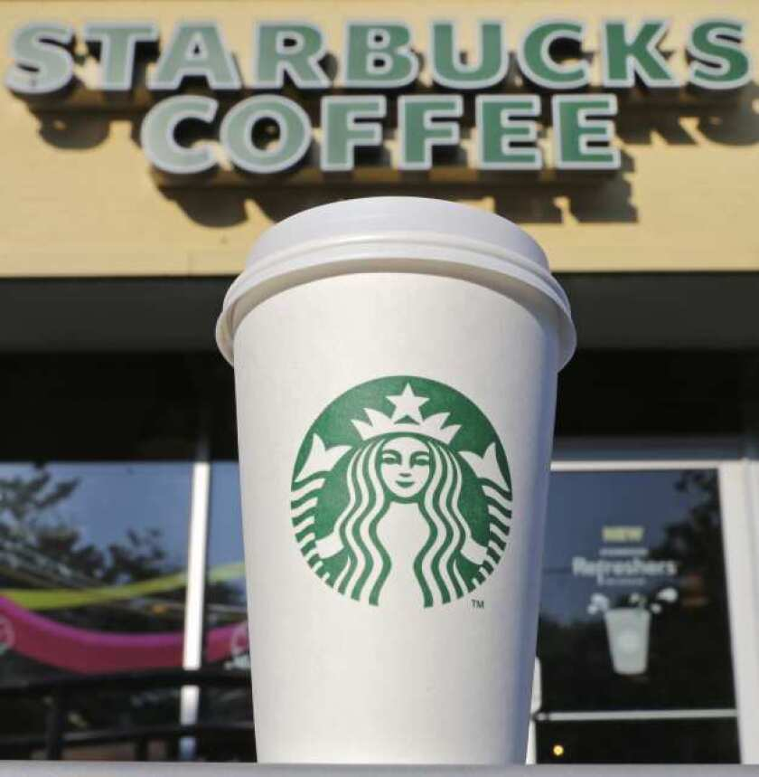 Gay marriage activists support Starbucks for appreciation event