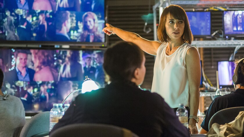 """Constance Zimmer in """"UnREAL"""" on Lifetime"""