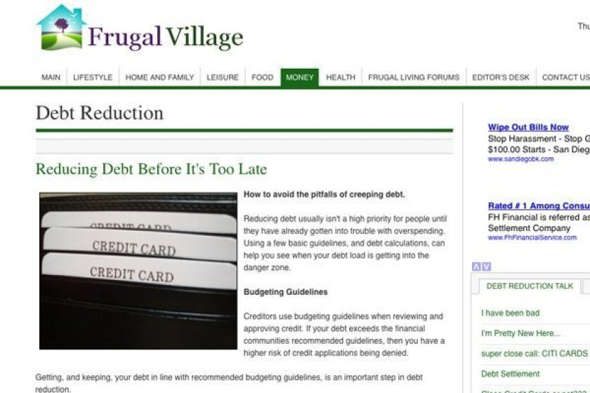 Some of the best money-saving ideas are only a click away on the internet. This one from frugalvillage.com