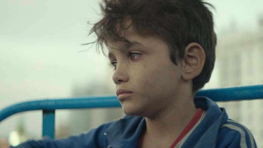 Zain Al Rafeea as Zain Photo by Christopher Aoun, Courtesy of Sony Pictures Classics