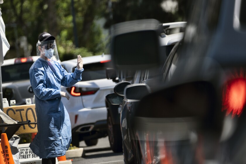 Virus Outbreak-California Testing