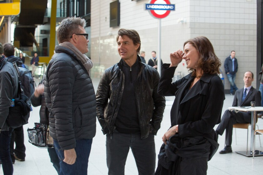 """Production on set of """"Mission: Impossible — Rogue Nation"""""""