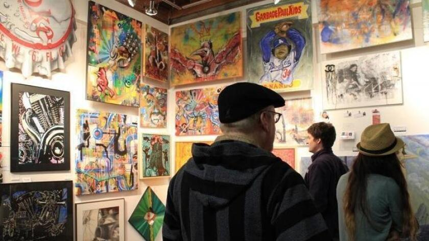 Art at the Pancakes and Booze event (neontommy.com)