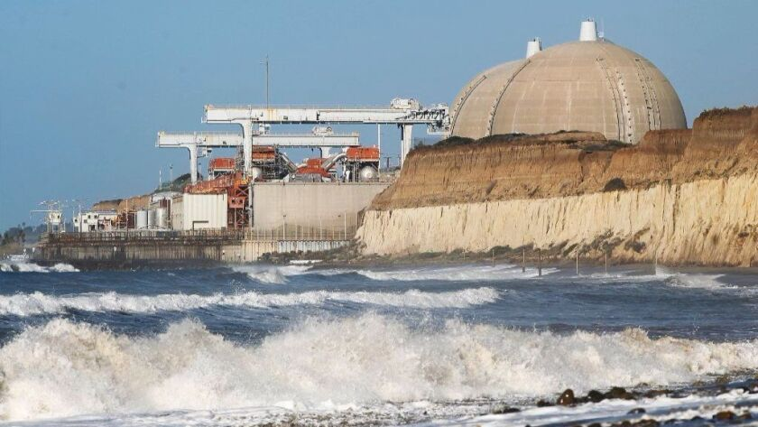 The San Onofre Nuclear Generating Station is an inoperative nuclear power plant the northwestern corner of San Diego County.