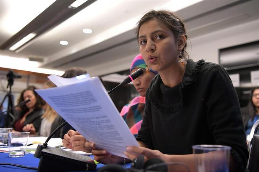 """Hija de Berta Cáceres pide condenas para """"todos"""" los que mataron a su madre"""