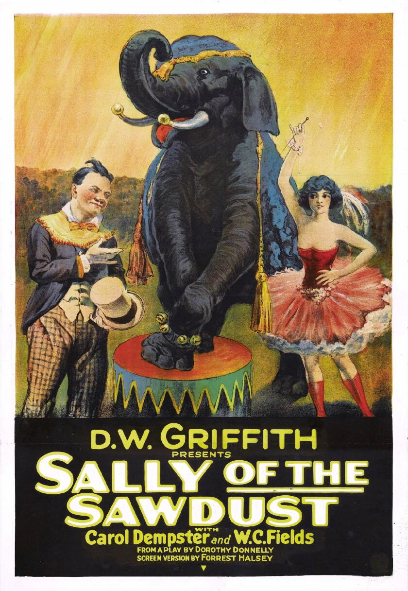'Sally of the Sawdust' screens as part of the 'Movies by Moonlight'