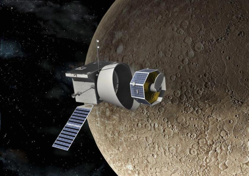 BepiColombo utiliza con éxito unos propulsores eléctricos inéditos en el espacio