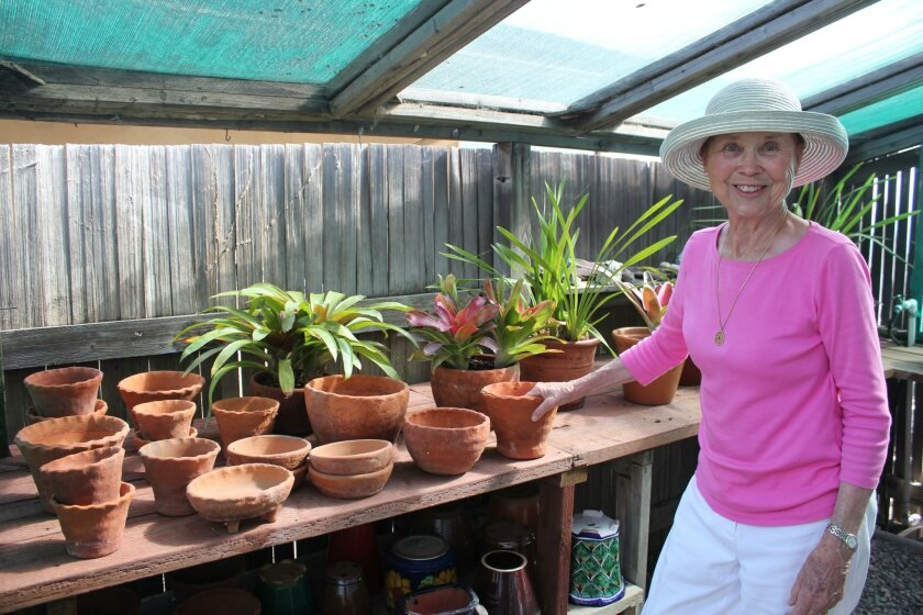 Marion Warwick still uses many of the hand-made pots that Bob Warwick acquired from Rodriguez.