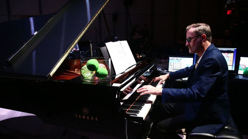 American composer David Rosenboom, a pioneer in experimental music, will give a keynote performance and speak on a panel at the San Diego Art Institute's inaugural AMT Festival (art, music, technology) this weekend.