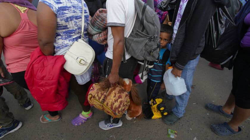 In the late afternoon an additional 180 migrants arrived from Mexicali to Tijuana. The group will sheltered at the Benito Juarez Sports Complex currently being used as the temporary shelter.