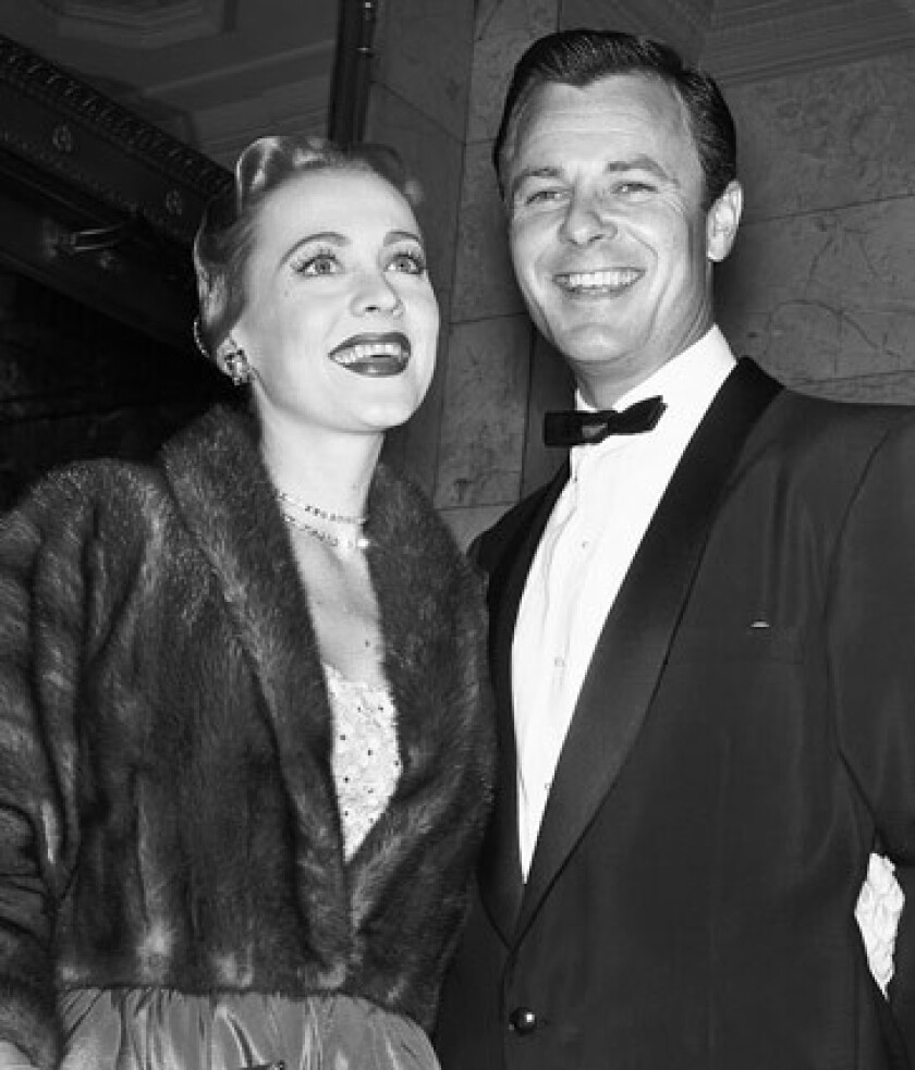 """Actor Robert Sterling, May 30 Actor Robert Sterling, pictured with his wife, actress Anne Jeffreys, in 1954, died on May 30 at his Brentwood, Calif., home. He was 88. Sterling was best known for the 1953-1956 TV series, """"Topper,"""" based on the Thorne Smith novel. Sterling and Jeffreys played George and Marion Kerby, a fun-loving couple who were killed in an accident but returned as ghosts to haunt the new occupant of their home, a banker named Cosmo Topper."""