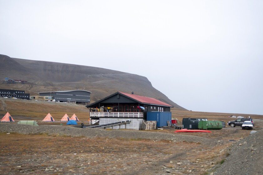 The Longyearbyen camp site after a polar bear attack