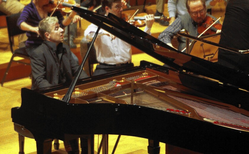 Pianist Jean-Yves Thibaudet performs at Disney Hall.