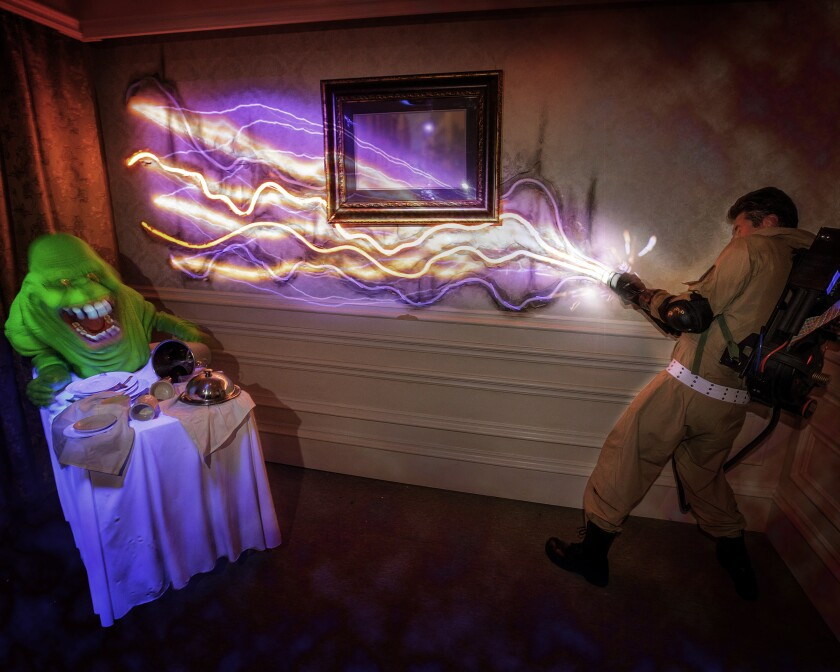 Ghostbusters at Halloween Horror Nights