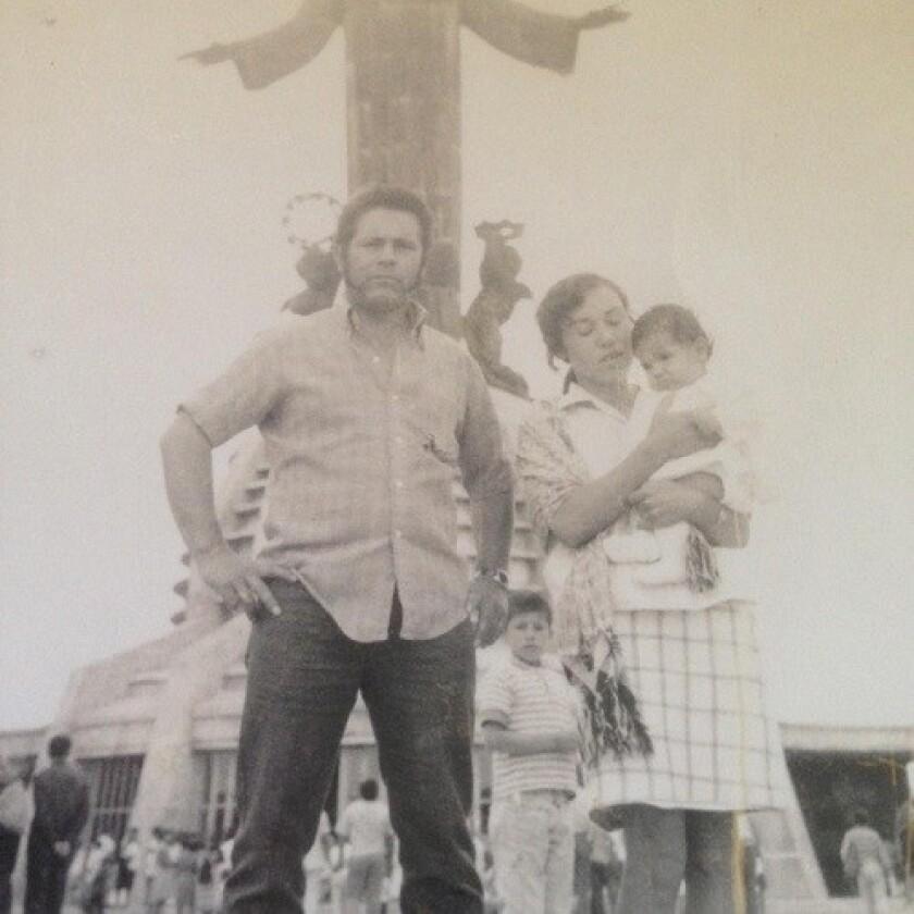 Heliodoro Guerrero, padre de Ana Guerrero, jefa de personal del alcalde de Los Ángeles, Eric Garcetti.