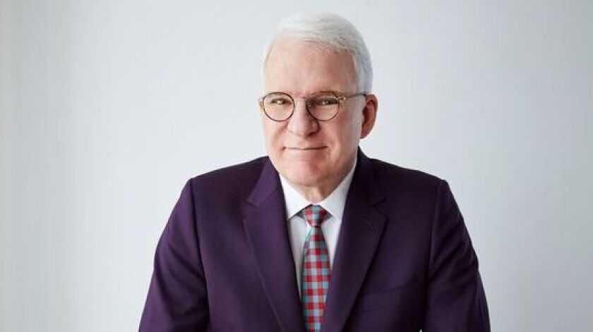 """I was a hippie,"" says Steve Martin, ""and I believed it all, that love was going to change the world"