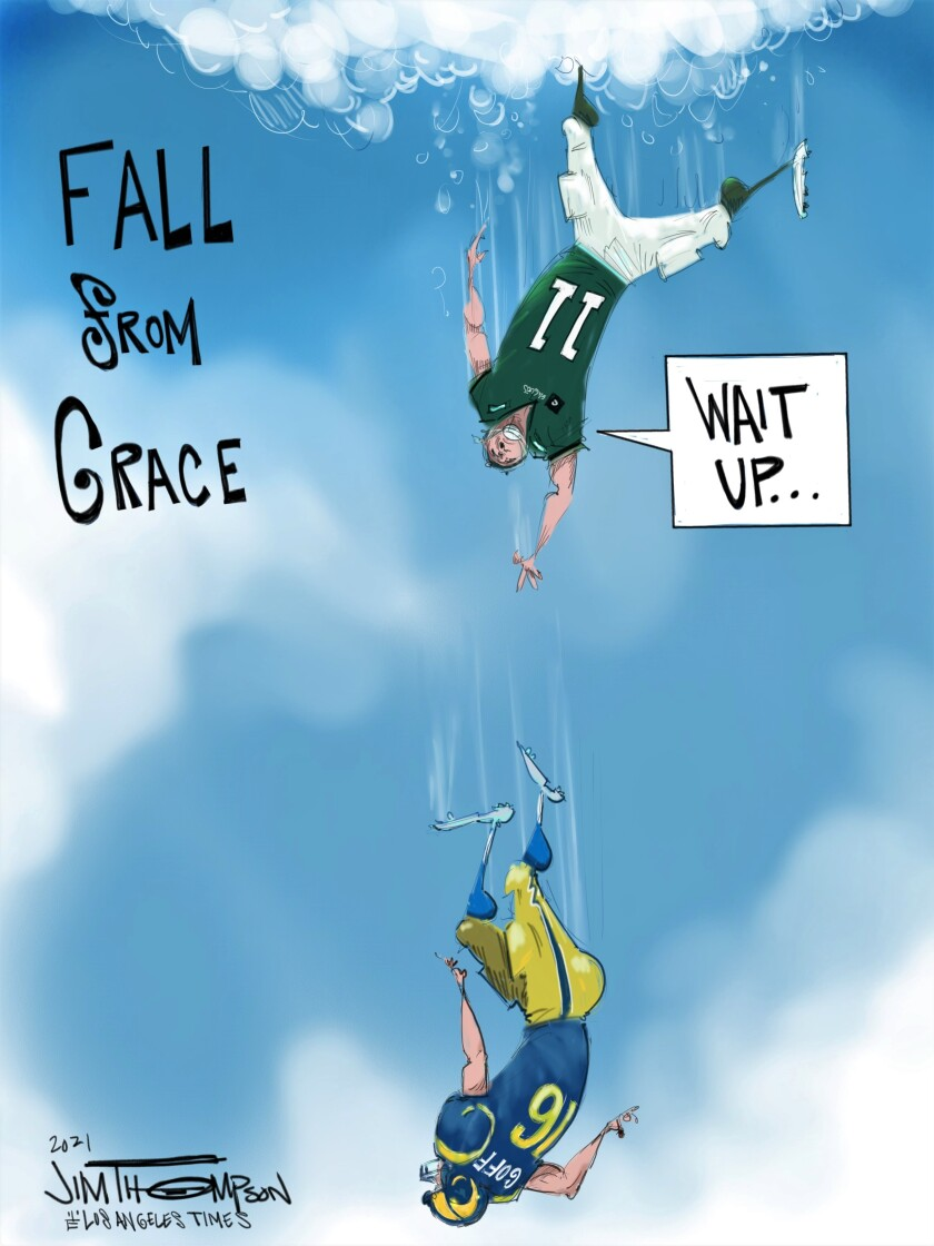 Quarterbacks' falls from NFL grace.