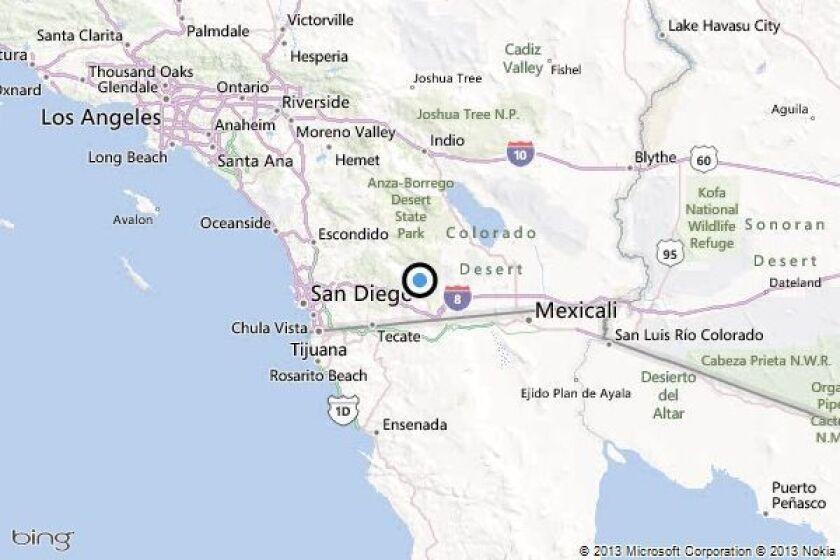 Earthquake: 3.9 quake strikes near Pine Valley, California