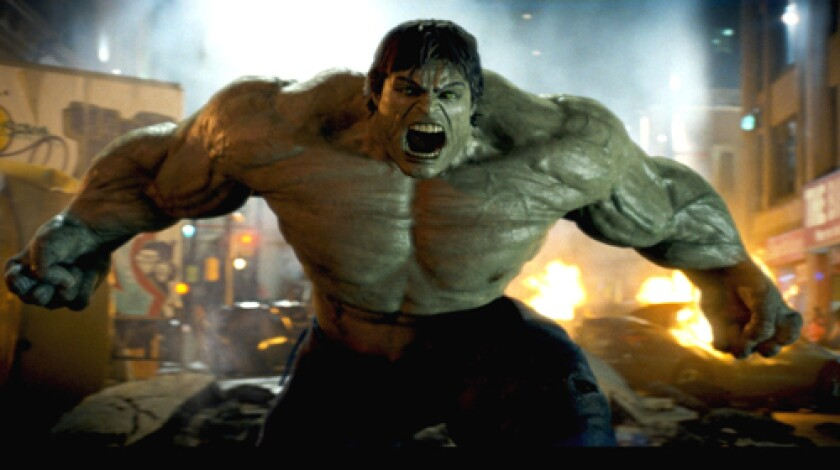 "RETURN: ""The Incredible Hulk,"" due June 13, has a formidable obstacle to overcome: Ang Lee's 2003 film."
