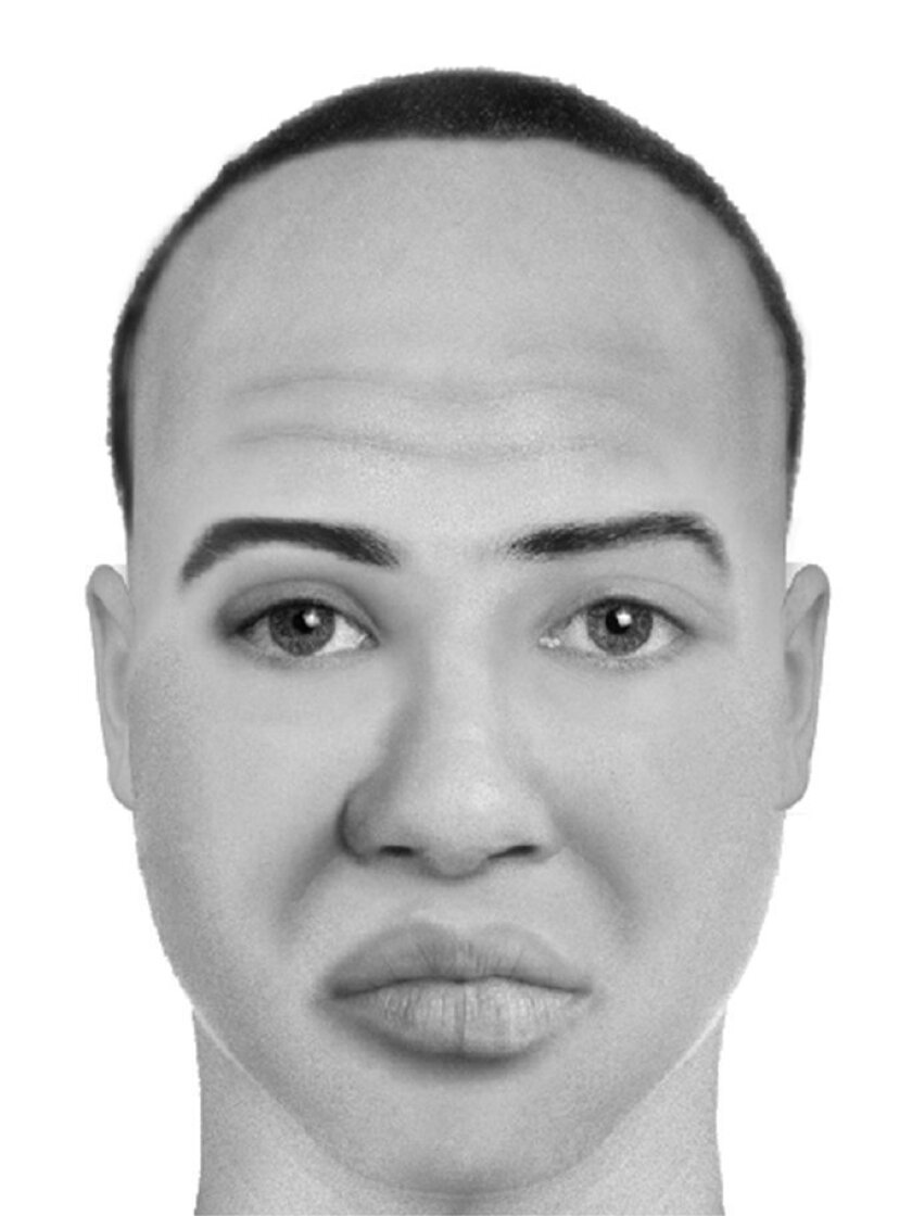 Composite sketch of the suspect. / San Diego Police Department