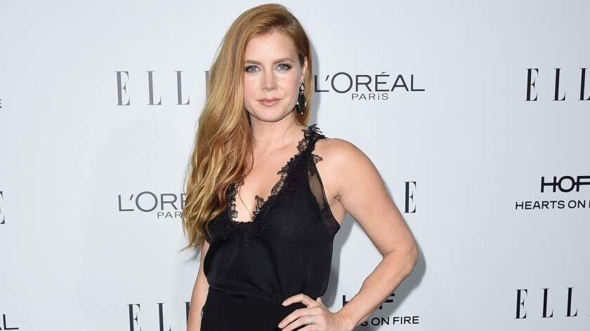 Amy Adams arrives at the 23rd annual Elle Women in Hollywood Awards at the Four Season Hotel in Beverly Hills on Oct. 24.