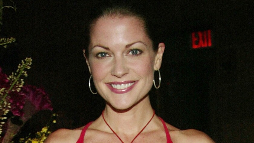 Actress Lisa Masters, shown in 2003, was found dead this week in Lima, Peru.