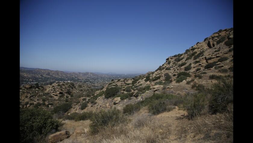 Rocky Peak trail