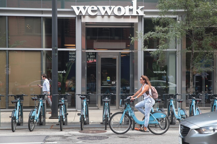 Real Estate Upstart WeWork