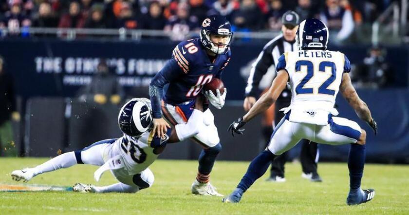 15-6. Trubisky y los Bears vencen a los Rams