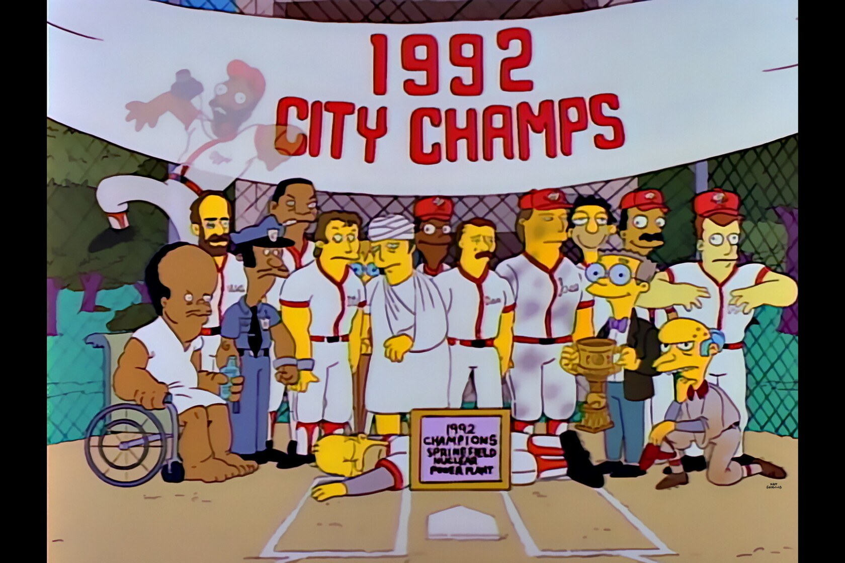D'oh! Homer Simpson is headed to Baseball's Hall of Fame - Los ...