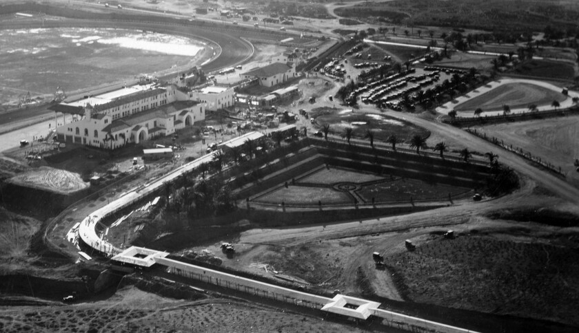 Agua Caliente racetrack in 1929