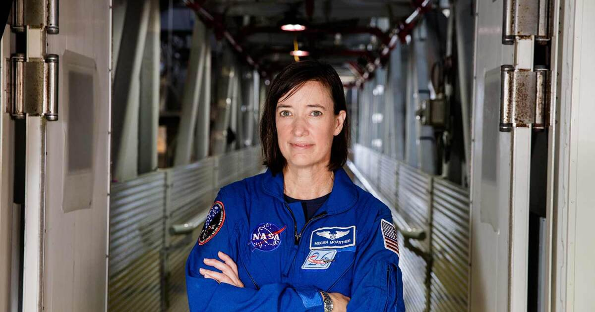 UC San Diego graduate Megan McArthur to fly spacecraft to space station early Friday